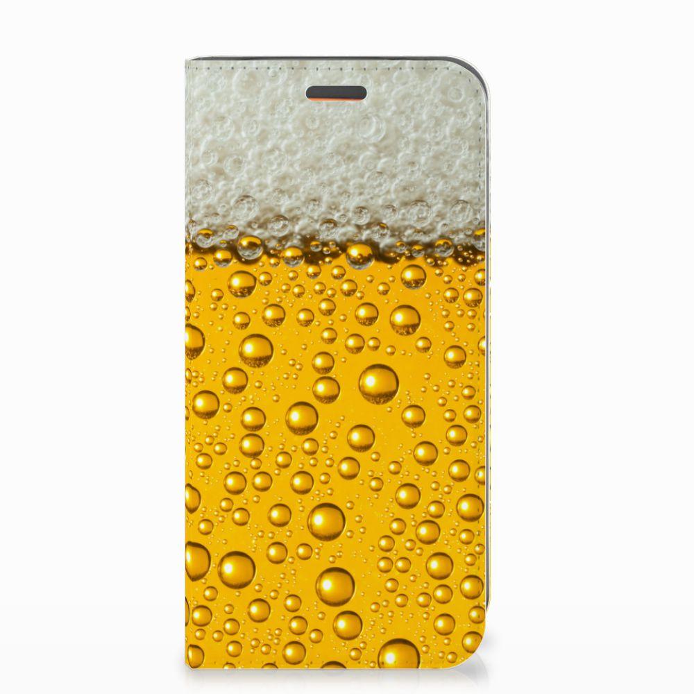 Motorola Moto E5 Play Flip Style Cover Bier