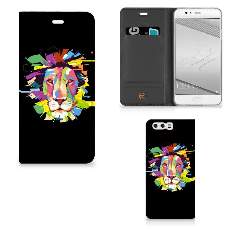 Huawei P10 Plus Magnet Case Lion Color
