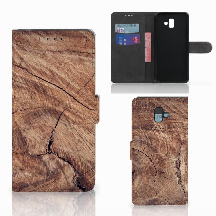 Samsung Galaxy J6 Plus (2018) Book Style Case Tree Trunk