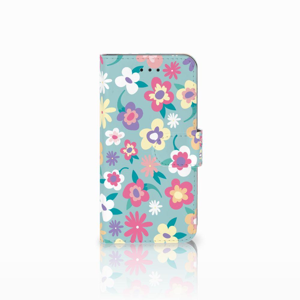 Apple iPhone X | Xs Boekhoesje Design Flower Power