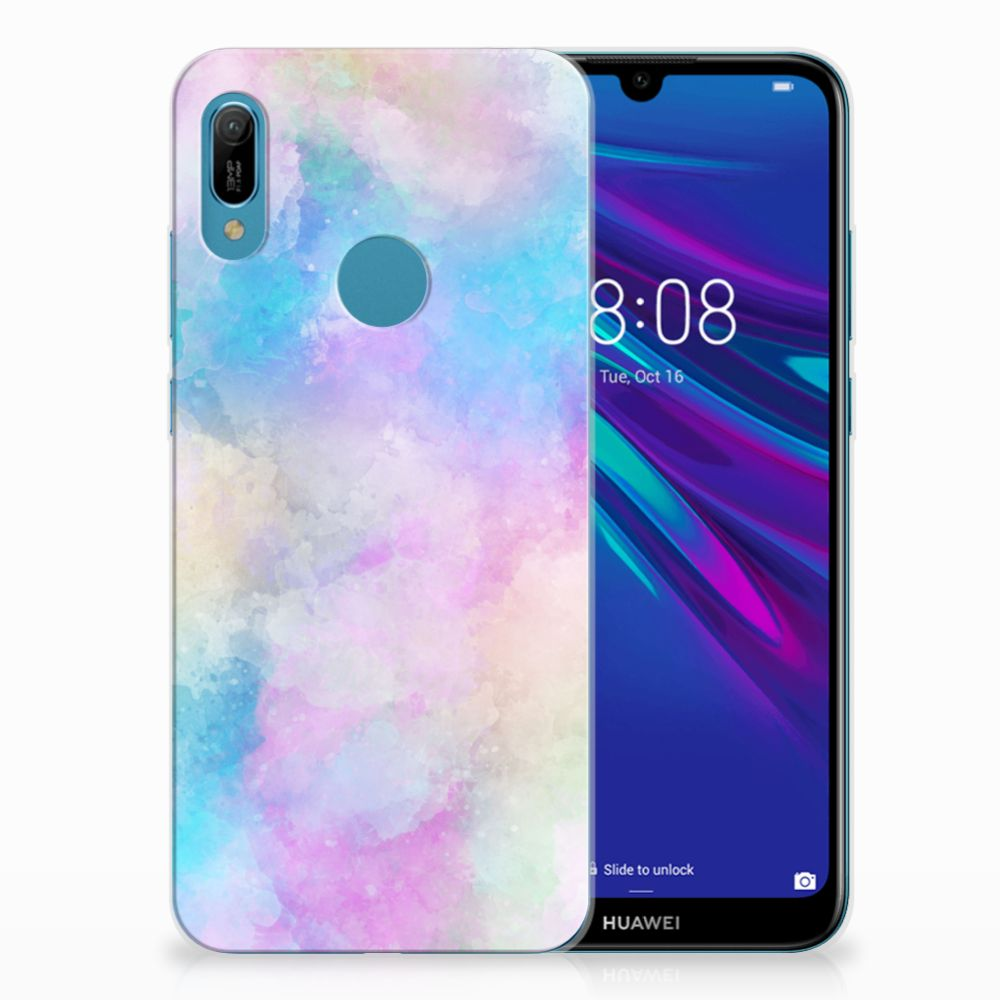 Hoesje maken Huawei Y6 2019 | Y6 Pro 2019 Watercolor Light
