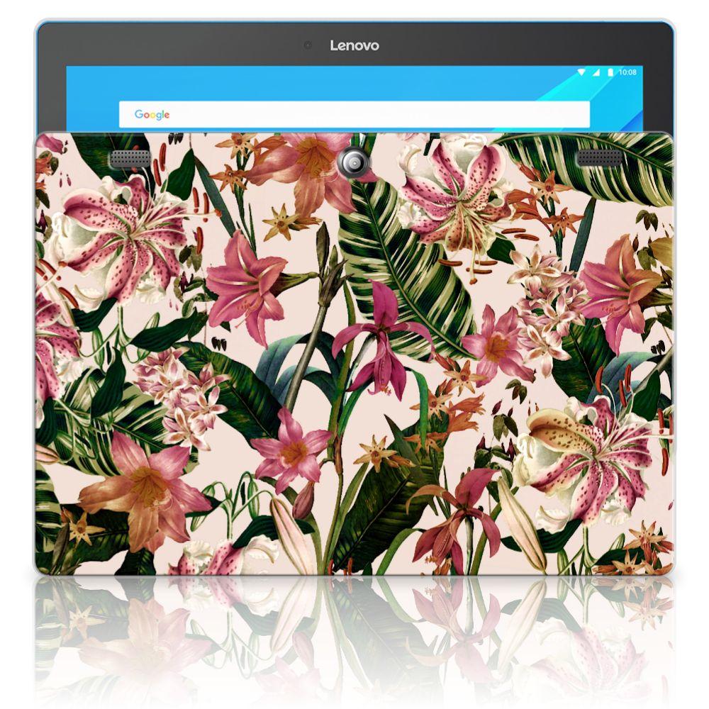 Lenovo Tab 10 | Tab 2 A10-30 Siliconen Hoesje Flowers