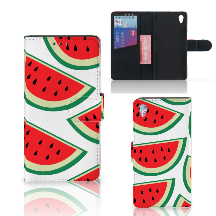 Sony Xperia Z3 Book Cover Watermelons