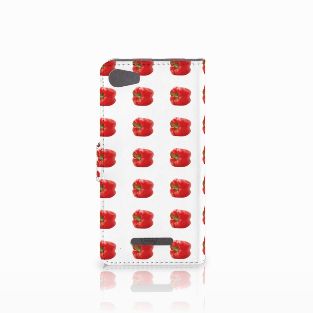 Wiko Lenny 2 Book Cover Paprika Red
