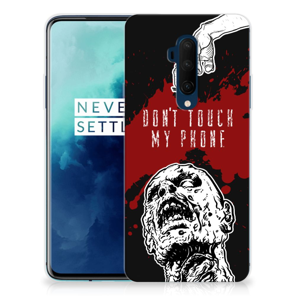 OnePlus 7T Pro Silicone-hoesje Zombie Blood