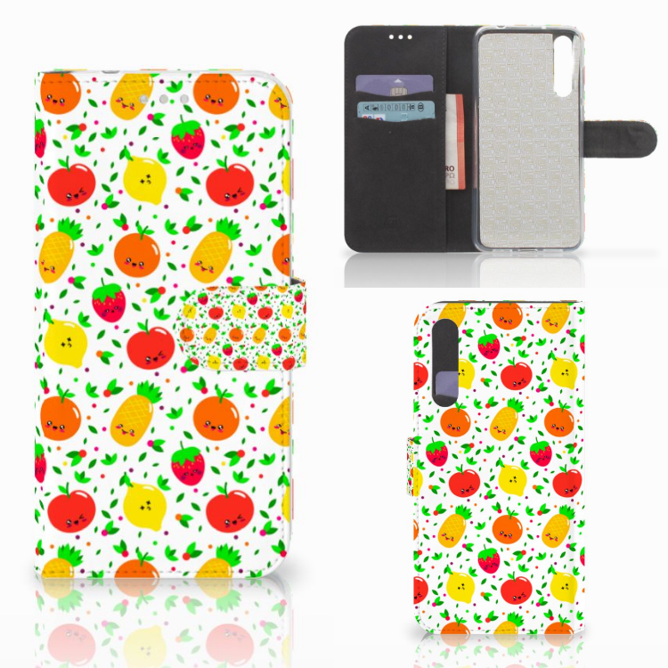 Huawei P20 Pro Book Cover Fruits