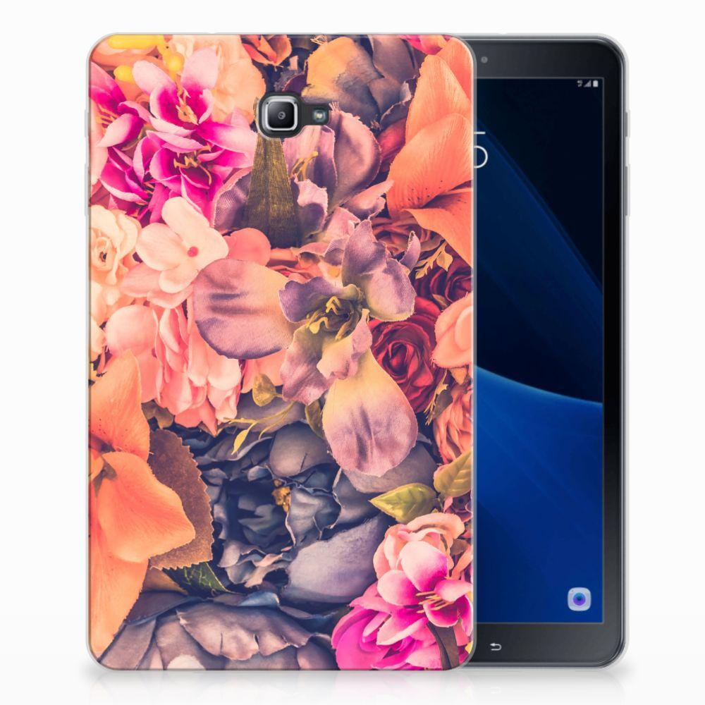 Samsung Galaxy Tab A 10.1 Tablethoesje Design Bosje Bloemen