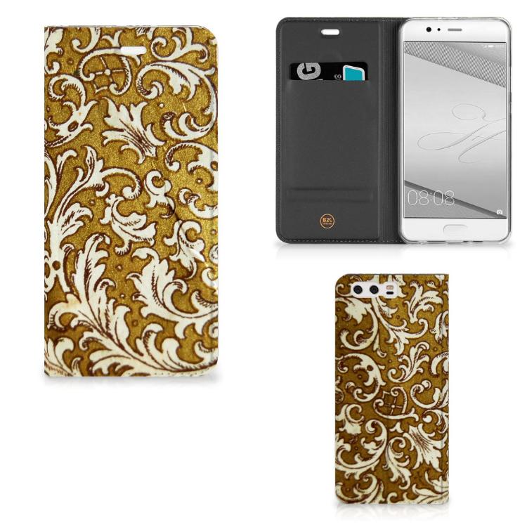 Telefoon Hoesje Huawei P10 Plus Barok Goud