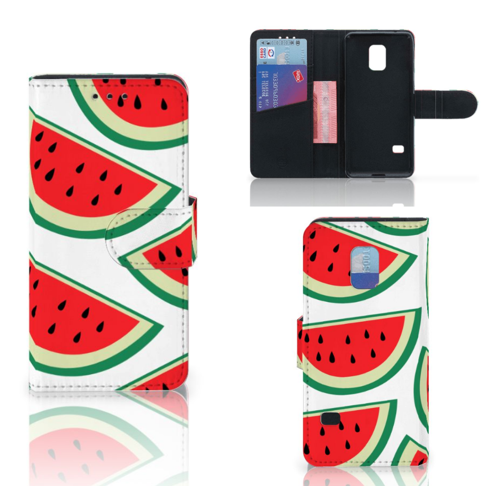 Samsung Galaxy S5 Mini Book Cover Watermelons