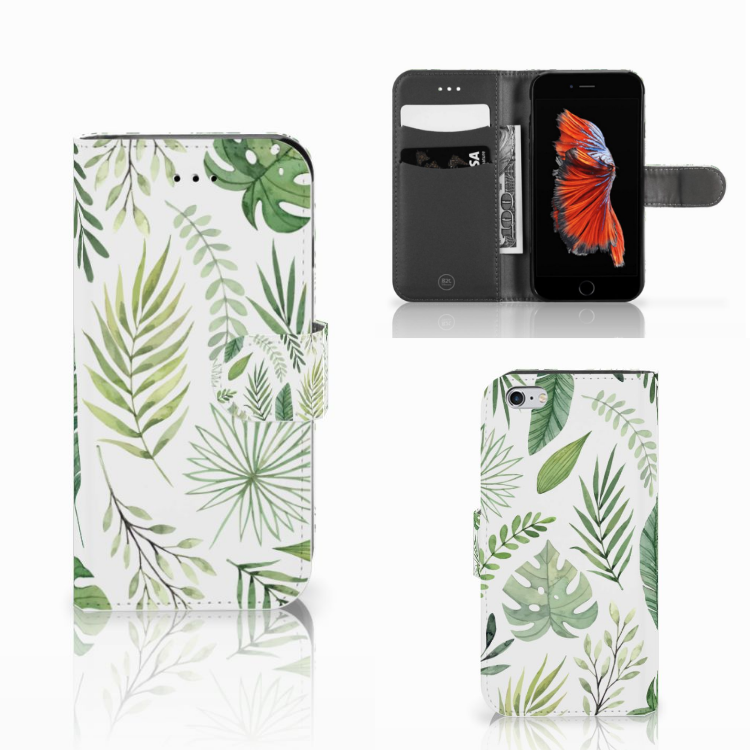 Apple iPhone 6 | 6s Hoesje Leaves