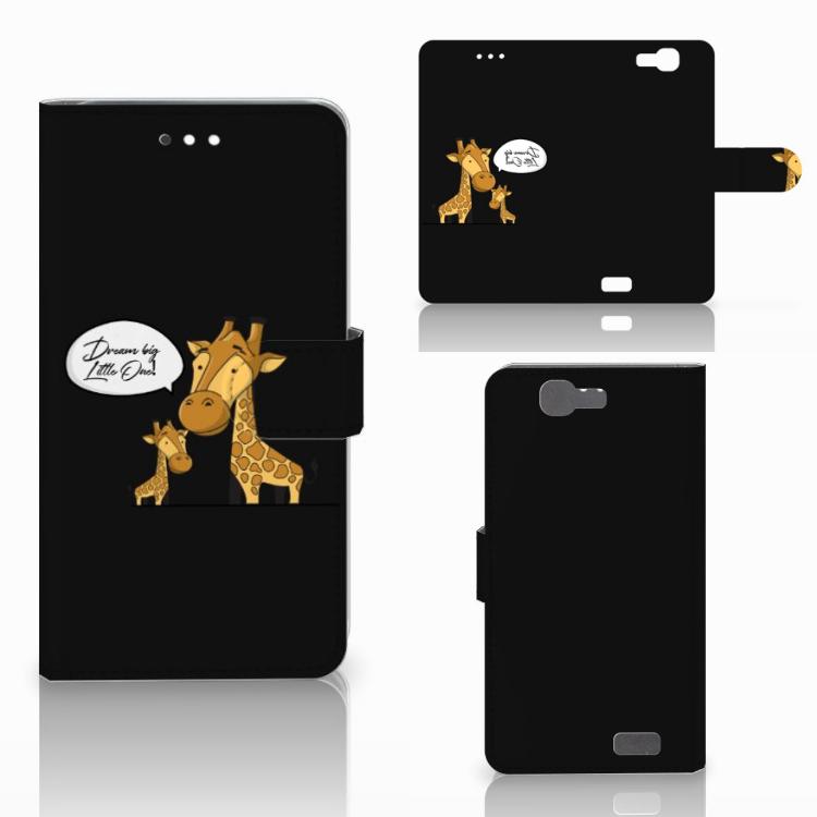 Huawei Ascend G7 Leuke Hoesje Giraffe