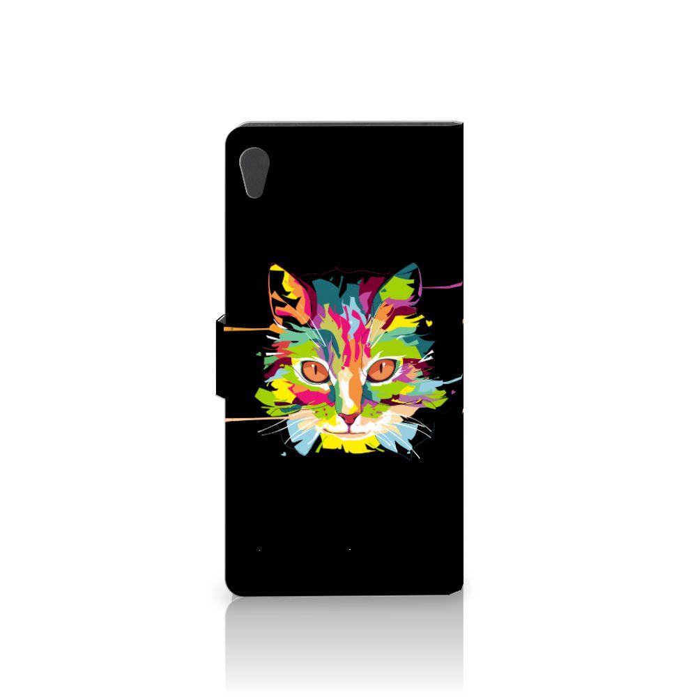 Sony Xperia XA Ultra Leuke Hoesje Cat Color