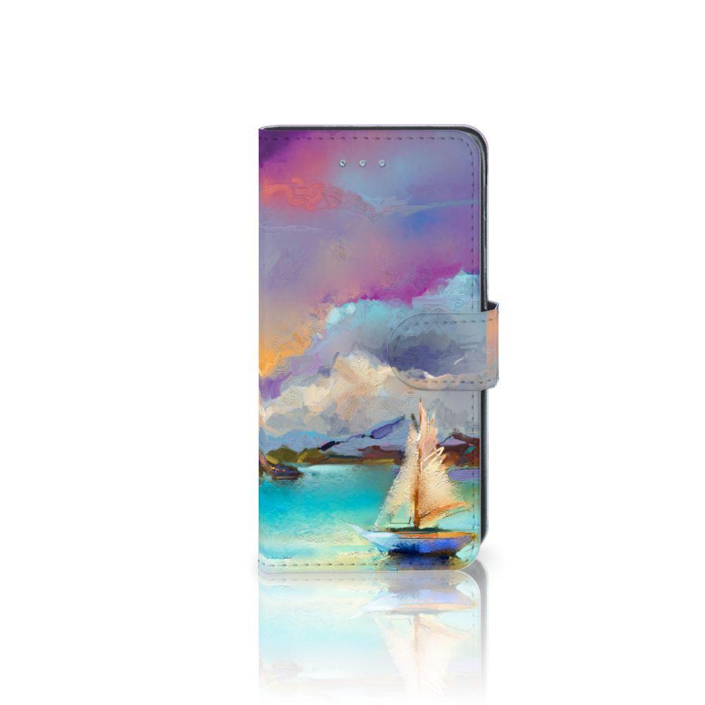 Samsung Galaxy J3 2016 Uniek Boekhoesje Boat