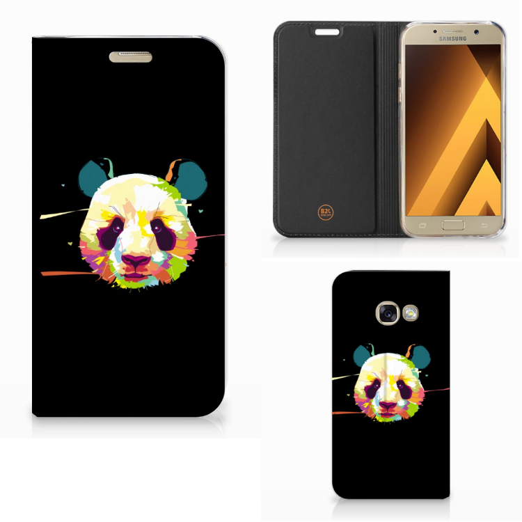 Samsung Galaxy A3 2017 Magnet Case Panda Color