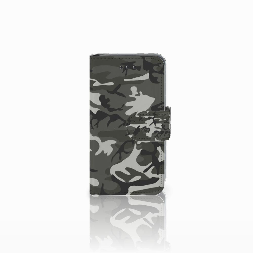 Nokia Lumia 530 Uniek Boekhoesje Army Light