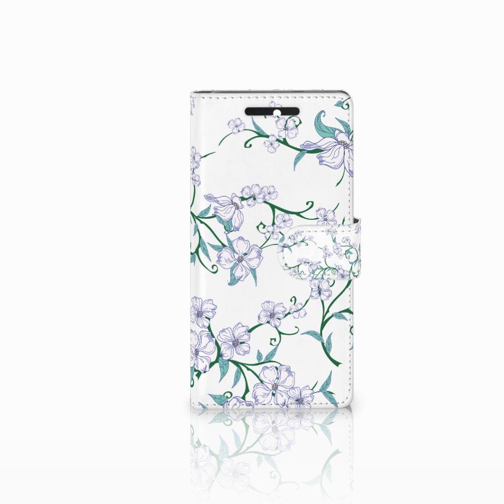 HTC Desire 628 Uniek Boekhoesje Blossom White