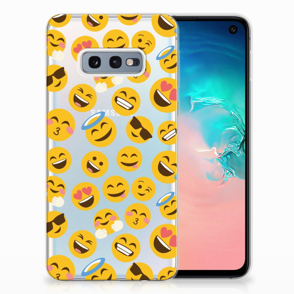 Samsung Galaxy S10e TPU Hoesje Design Emoji