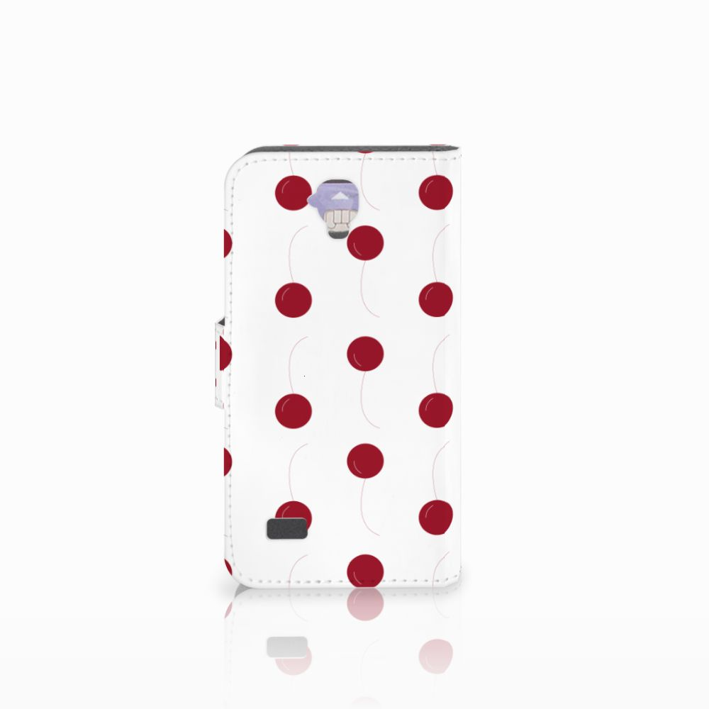 Huawei Y5 Y560 Book Cover Cherries