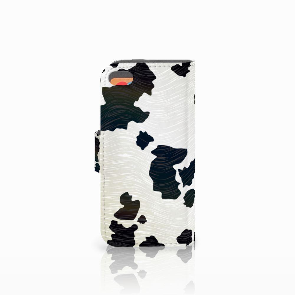 Apple iPhone 5C Telefoonhoesje met Pasjes Koeienvlekken