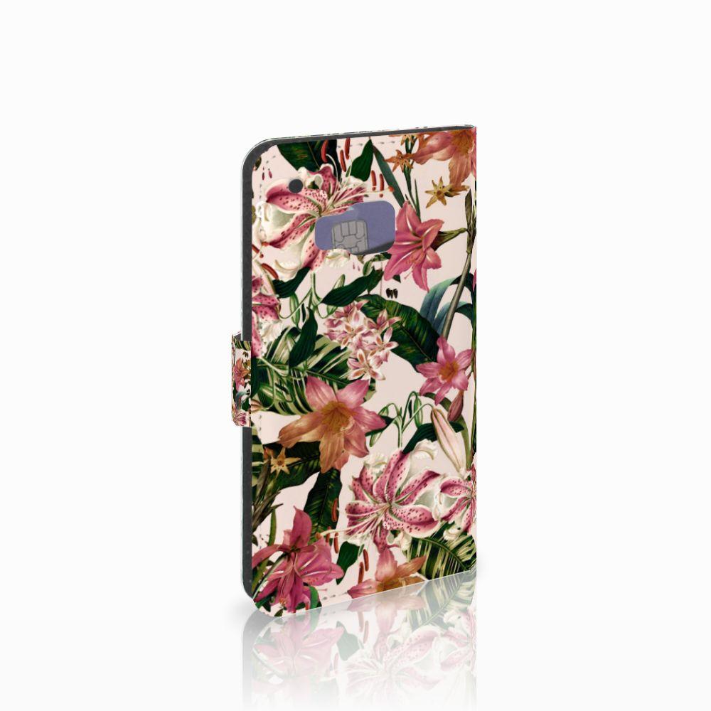 HTC One M9 Hoesje Flowers