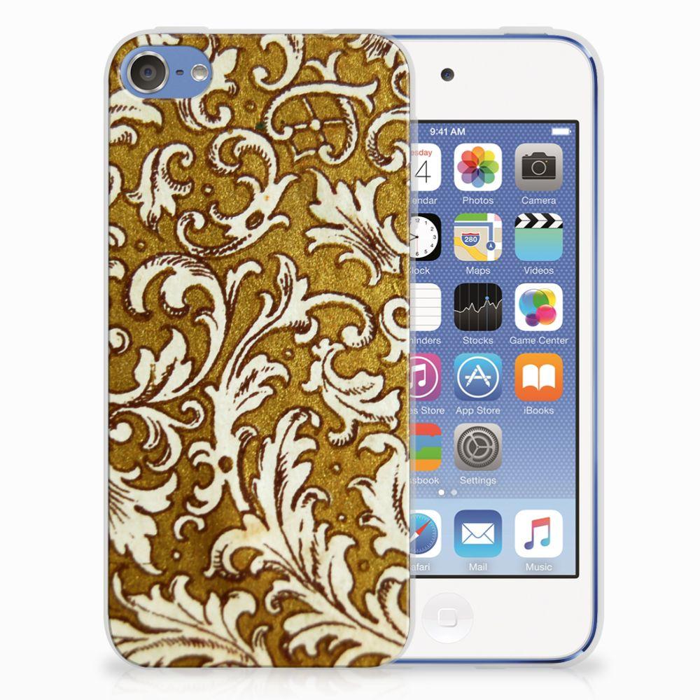 Siliconen Hoesje Apple iPod Touch 5 | 6 Barok Goud
