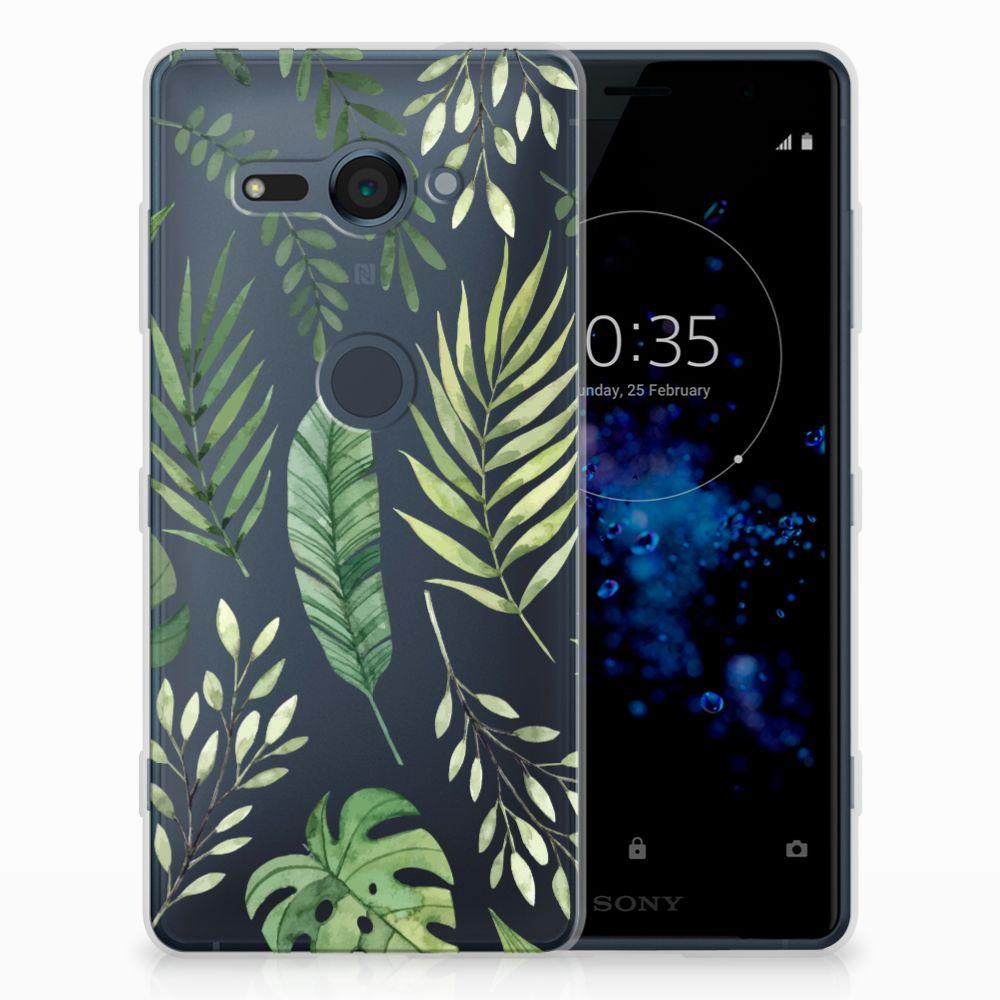 Sony Xperia XZ2 Compact TPU Case Leaves