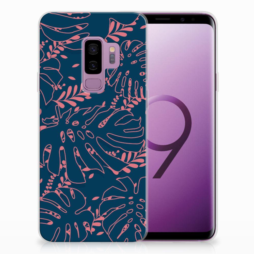Samsung Galaxy S9 Plus TPU Hoesje Design Palm Leaves