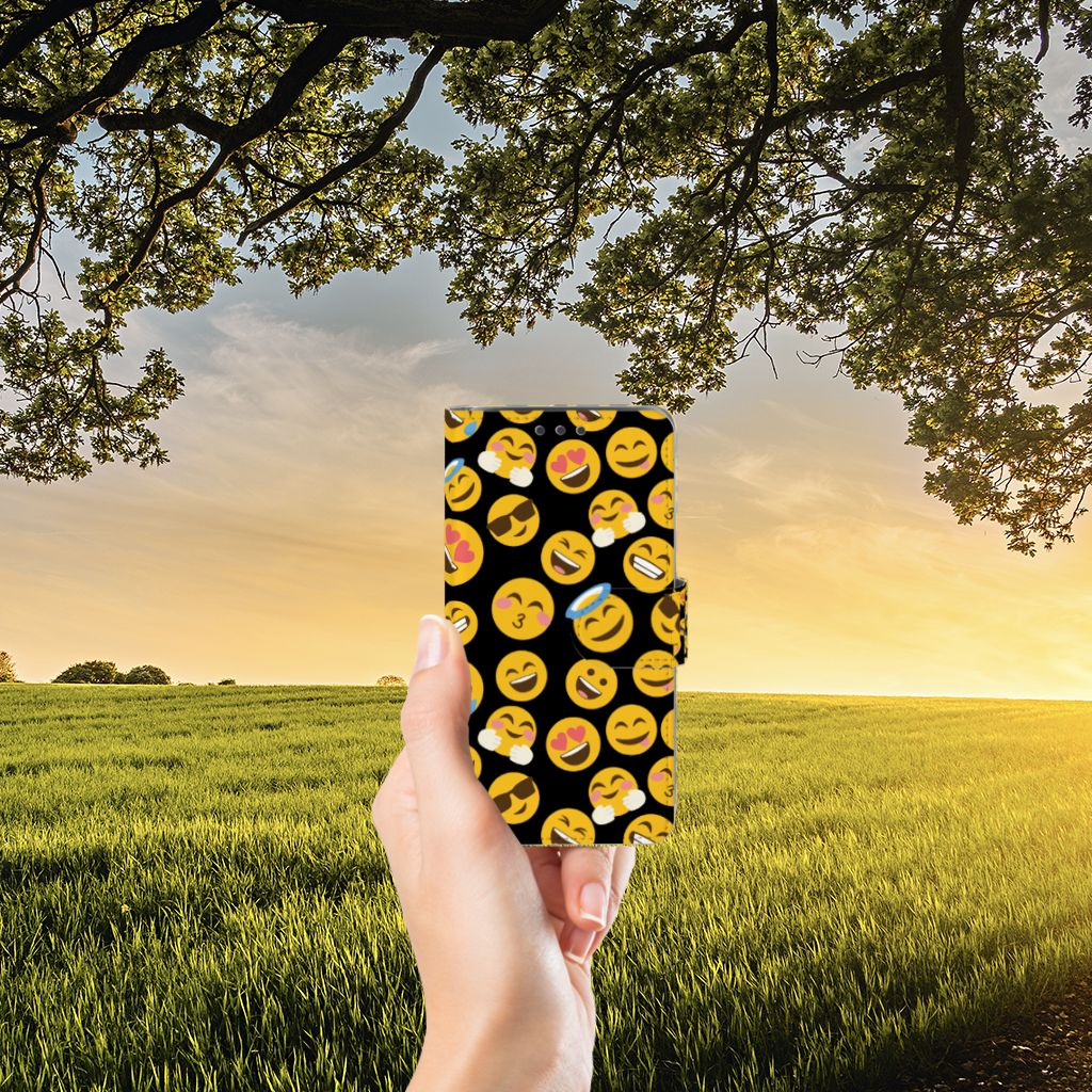 Samsung Galaxy J5 (2015) Boekhoesje Design Emoji