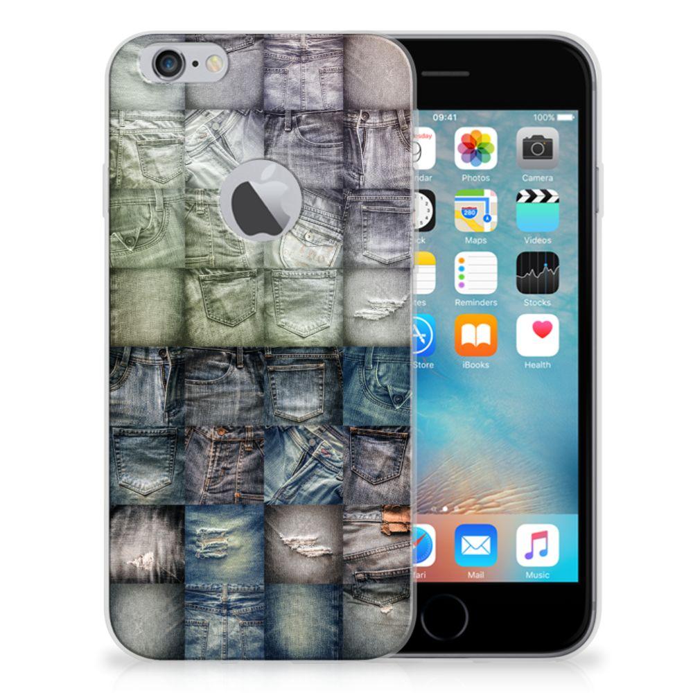 Silicone Back Cover Apple iPhone 6 Plus | 6s Plus Spijkerbroeken