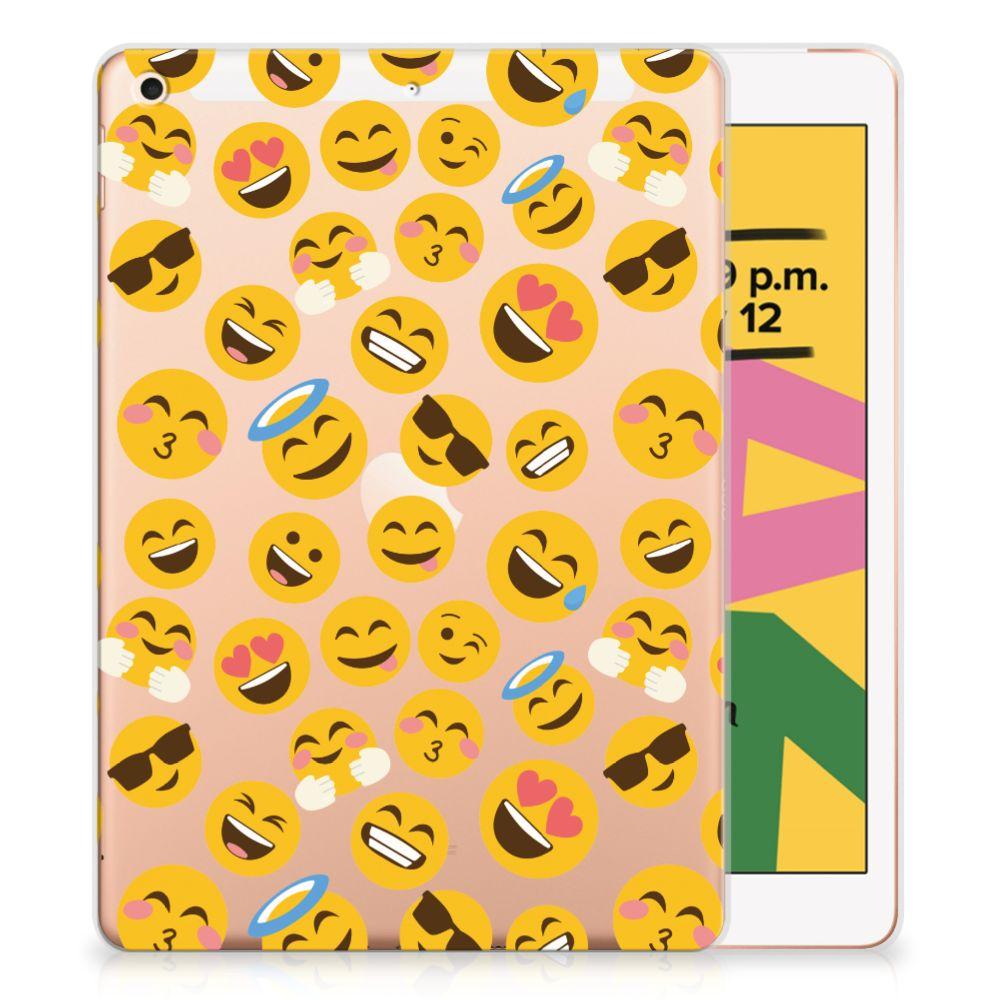 Apple iPad 10.2 (2019) Hippe Hoes Emoji