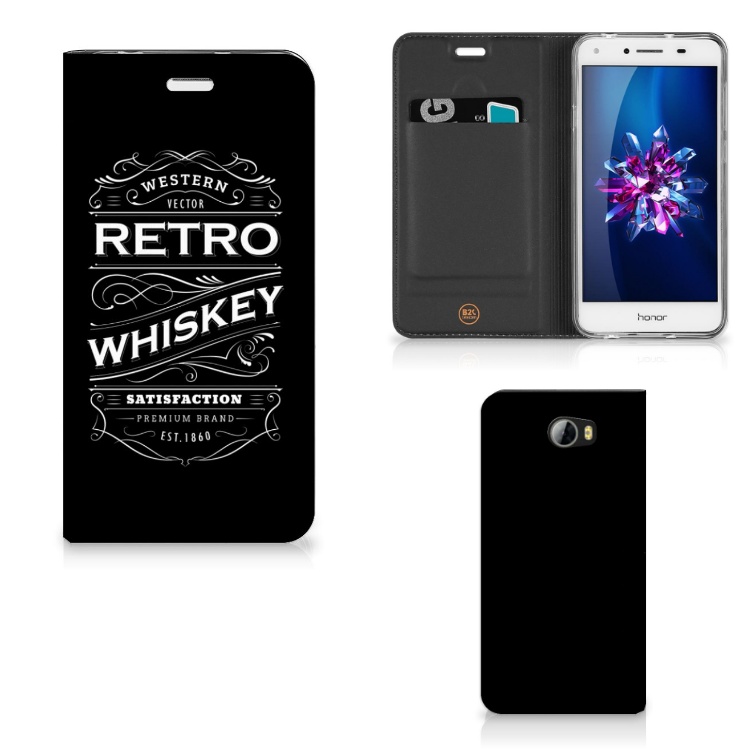 Huawei Y5 2 | Y6 Compact Flip Style Cover Whiskey