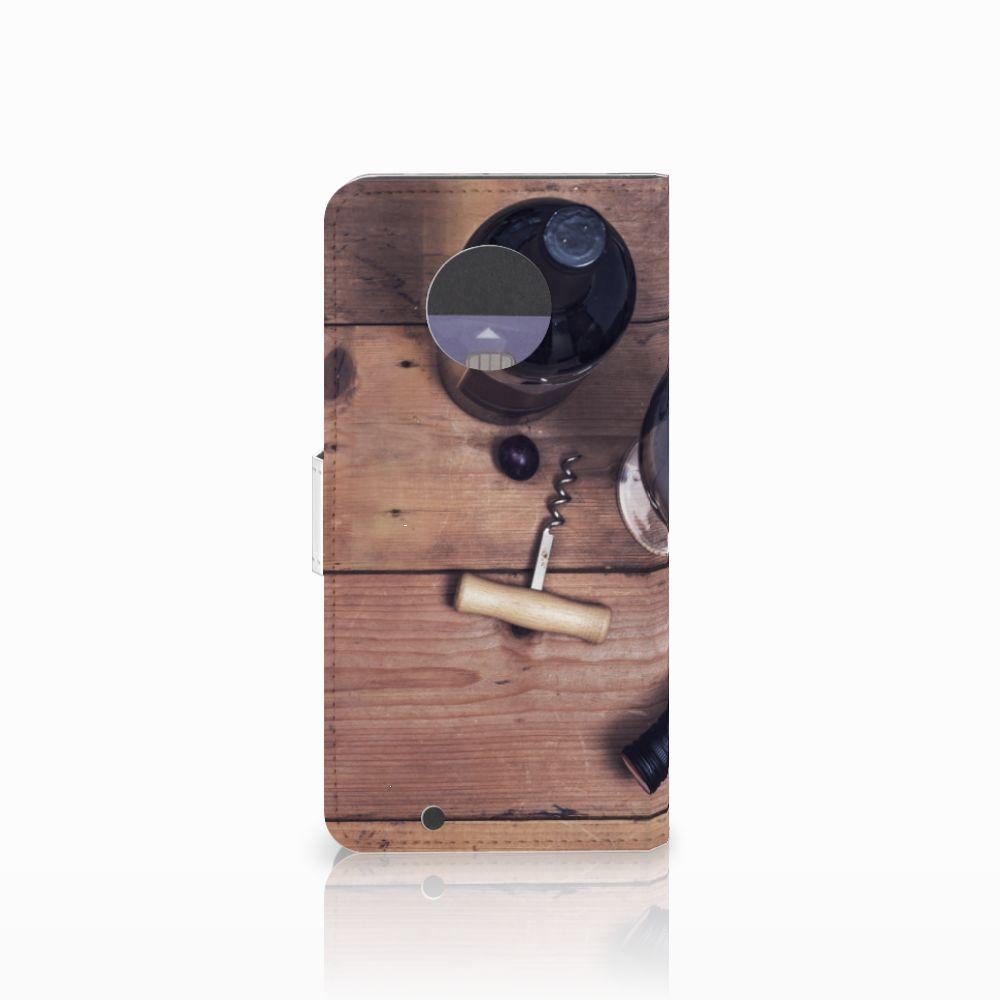 Motorola Moto G6 Book Cover Wijn