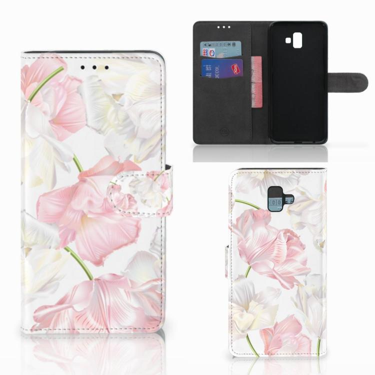 Samsung Galaxy J6 Plus (2018) Hoesje Lovely Flowers