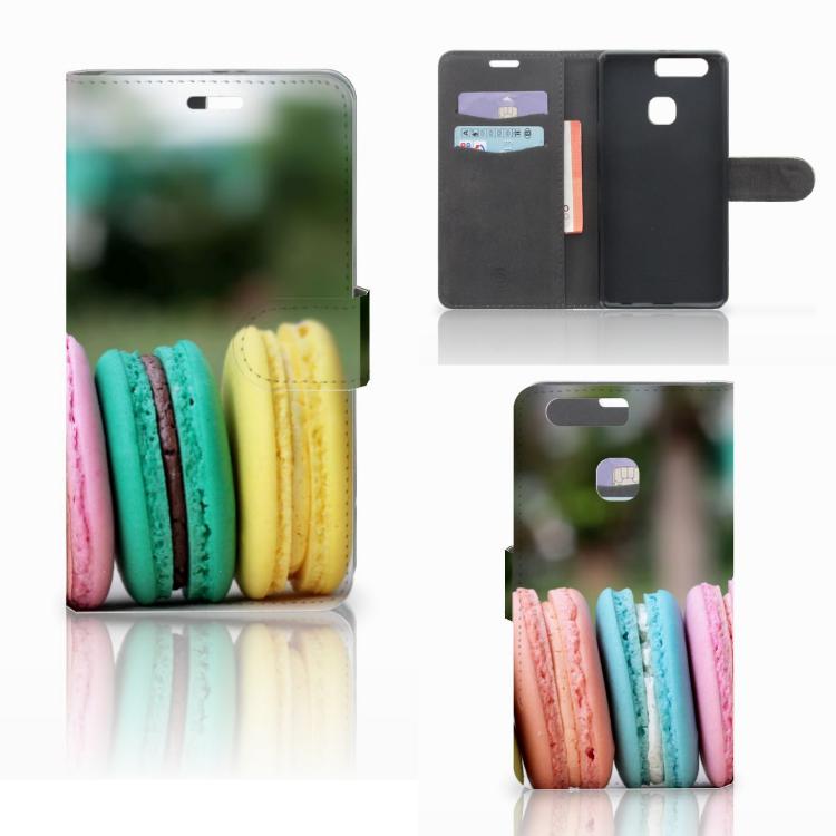 Huawei P9 Plus Book Cover Macarons