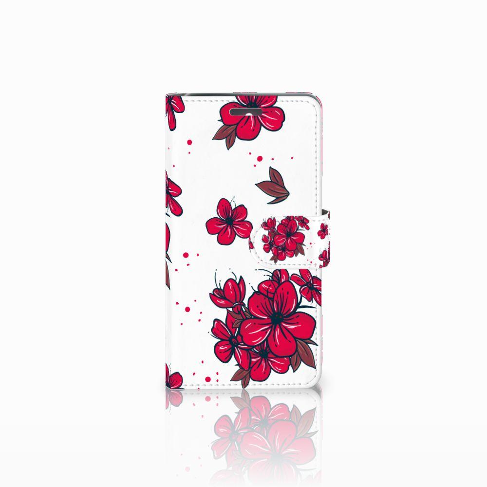 Lenovo K6 Boekhoesje Design Blossom Red