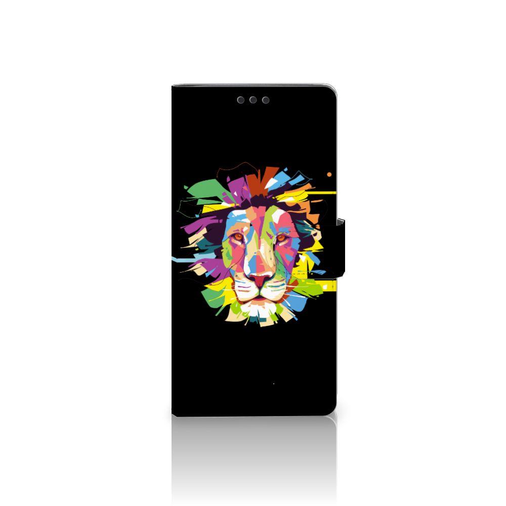 Sony Xperia XA Ultra Uniek Boekhoesje Lion Color