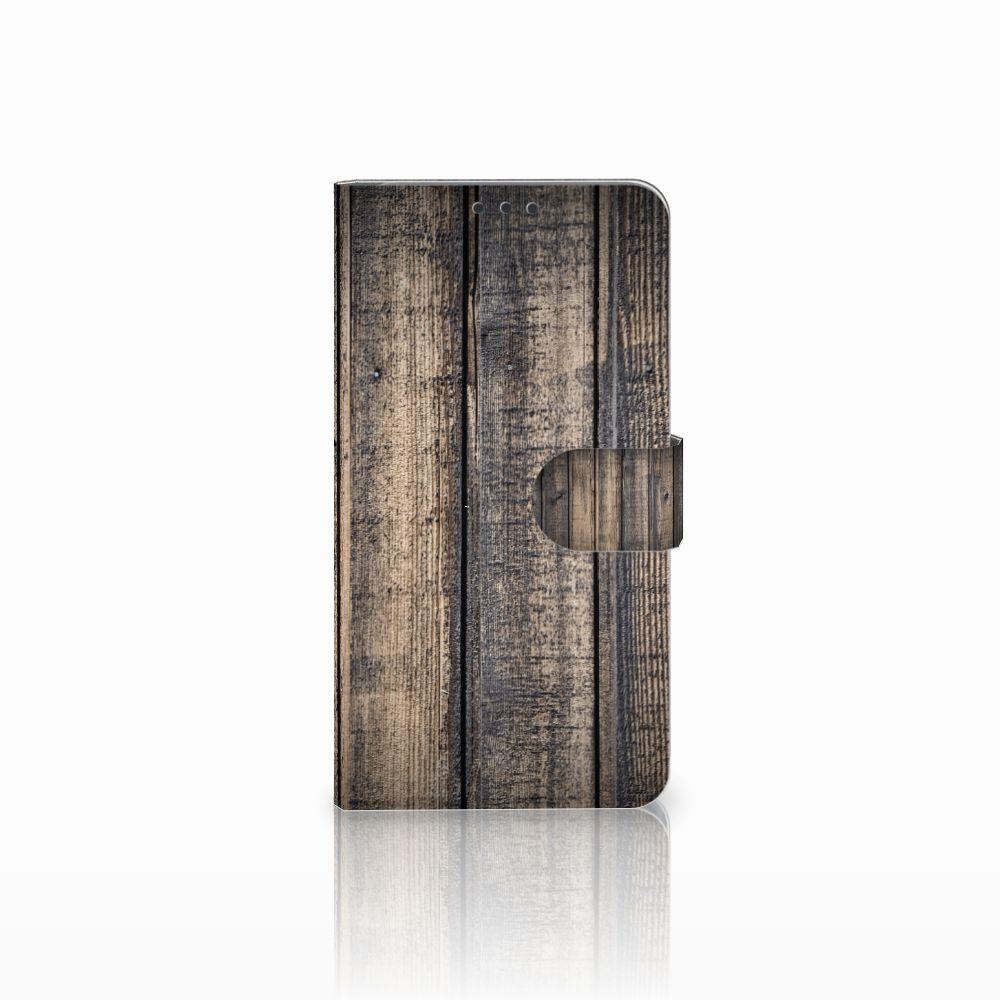 Microsoft Lumia 640 XL Boekhoesje Design Steigerhout