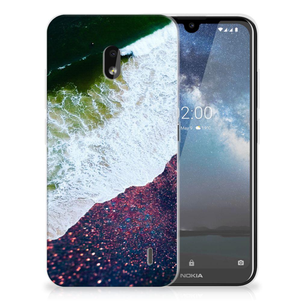 Nokia 2.2 TPU Hoesje Sea in Space
