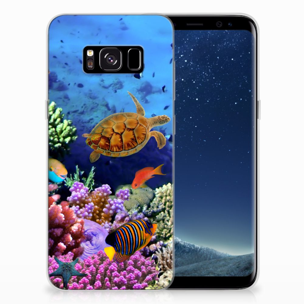 Samsung Galaxy S8 TPU Hoesje Vissen