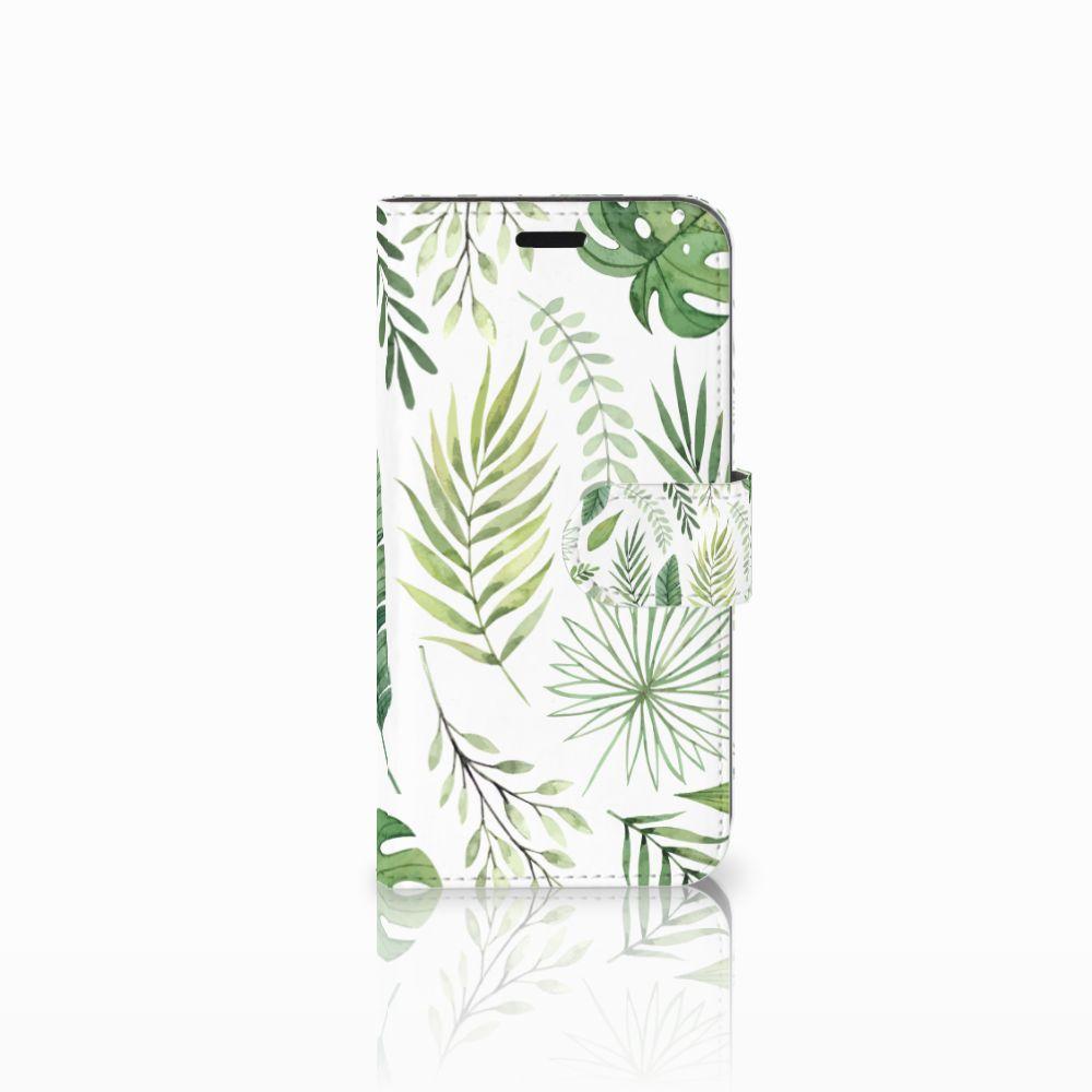 Huawei Nova Uniek Boekhoesje Leaves