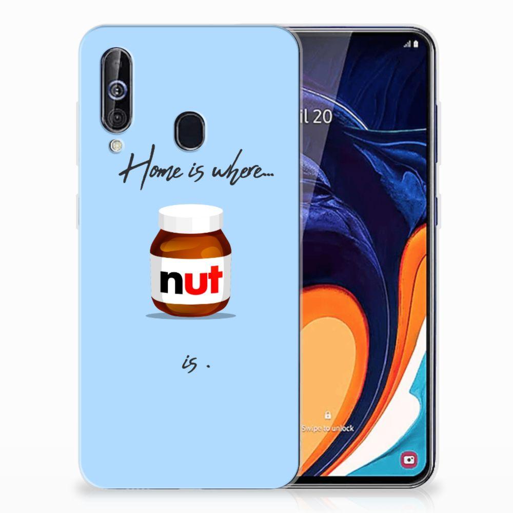 Samsung Galaxy A60 Siliconen Case Nut Home