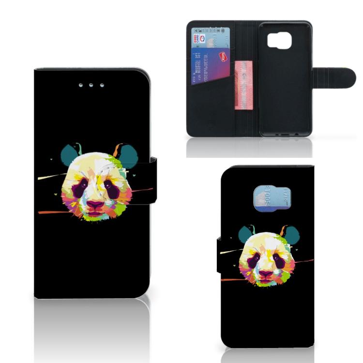 Samsung Galaxy S6 | S6 Duos Leuke Hoesje Panda Color