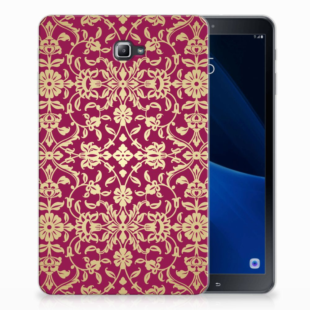 Samsung Galaxy Tab A 10.1 Tablethoesje Design Barok Pink