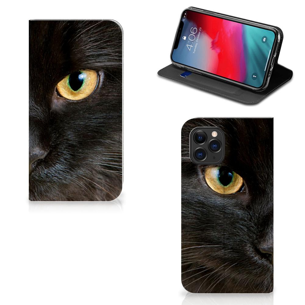 Apple iPhone 11 Pro Hoesje maken Zwarte Kat