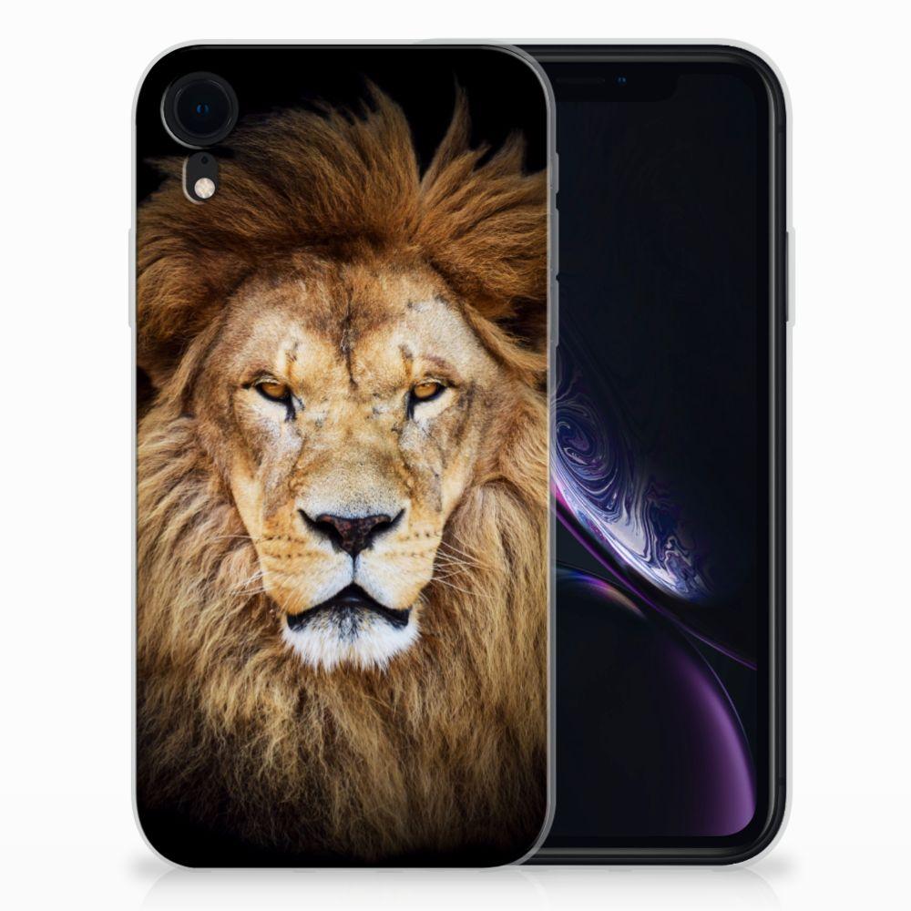 Apple iPhone Xr TPU Hoesje Leeuw