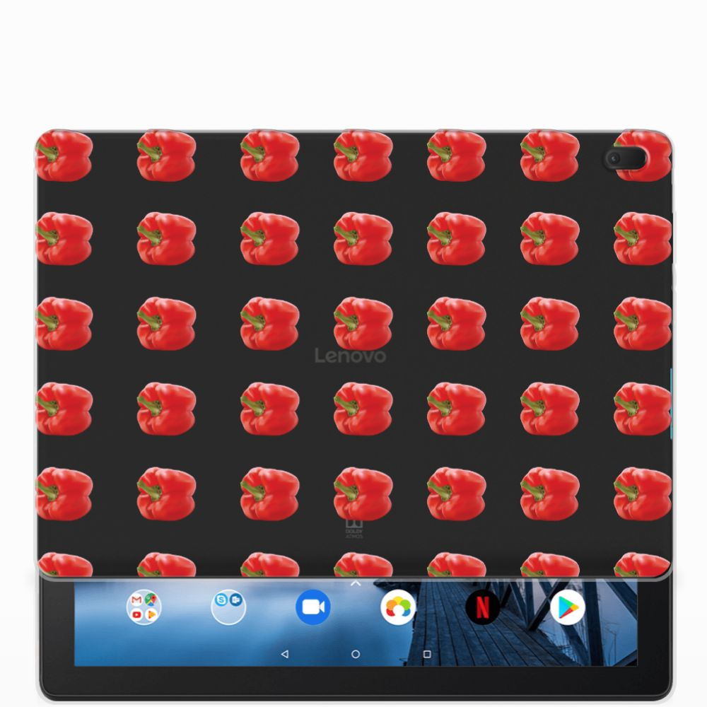 Lenovo Tab E10 Tablet Cover Paprika Red