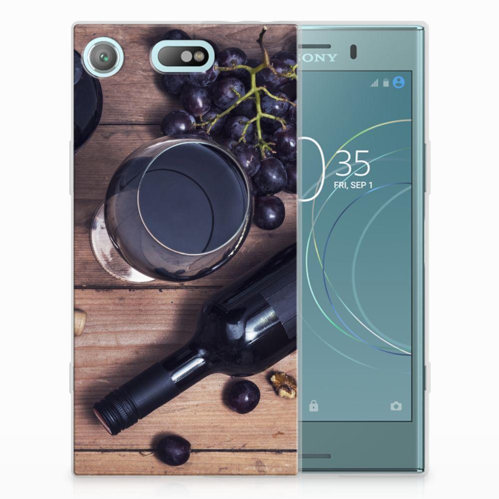 Sony Xperia XZ1 Compact Siliconen Case Wijn