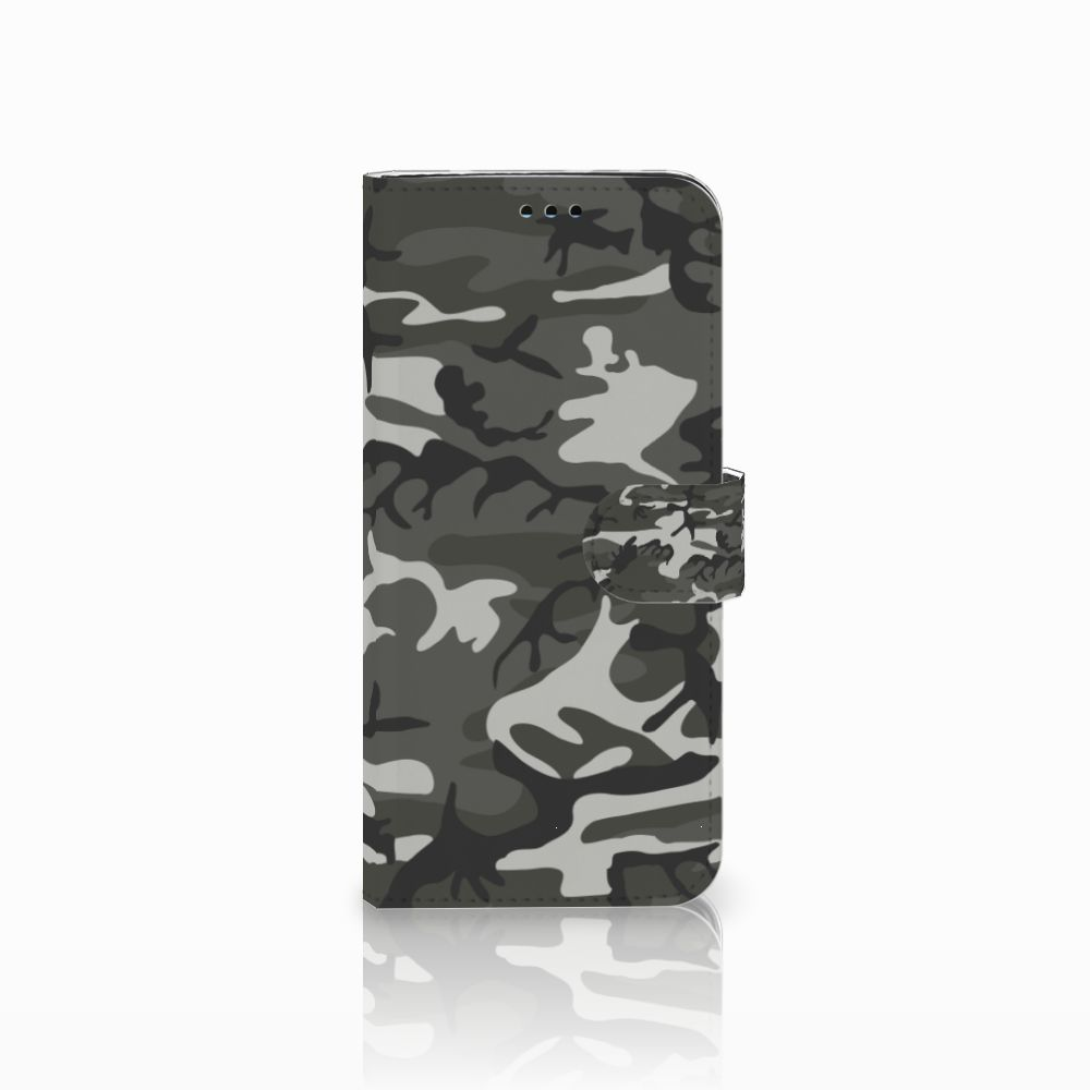 Samsung Galaxy S9 Plus Uniek Boekhoesje Army Light