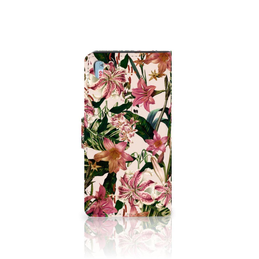 Sony Xperia Z5 | Z5 Dual Hoesje Flowers