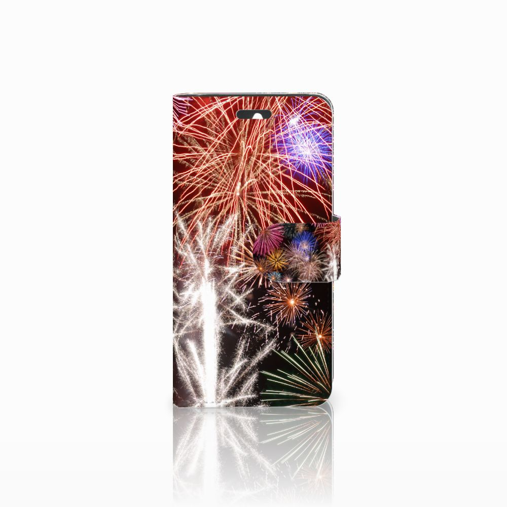 Huawei Ascend Y550 Boekhoesje Design Vuurwerk